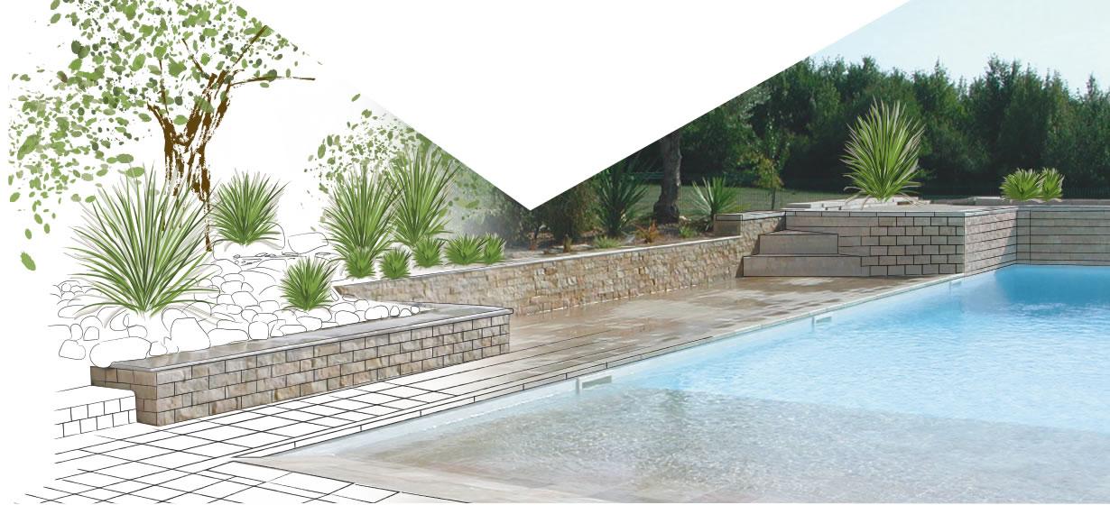 accompagnement projet exterieur piscine calminia pierre naturelle vente fabricant