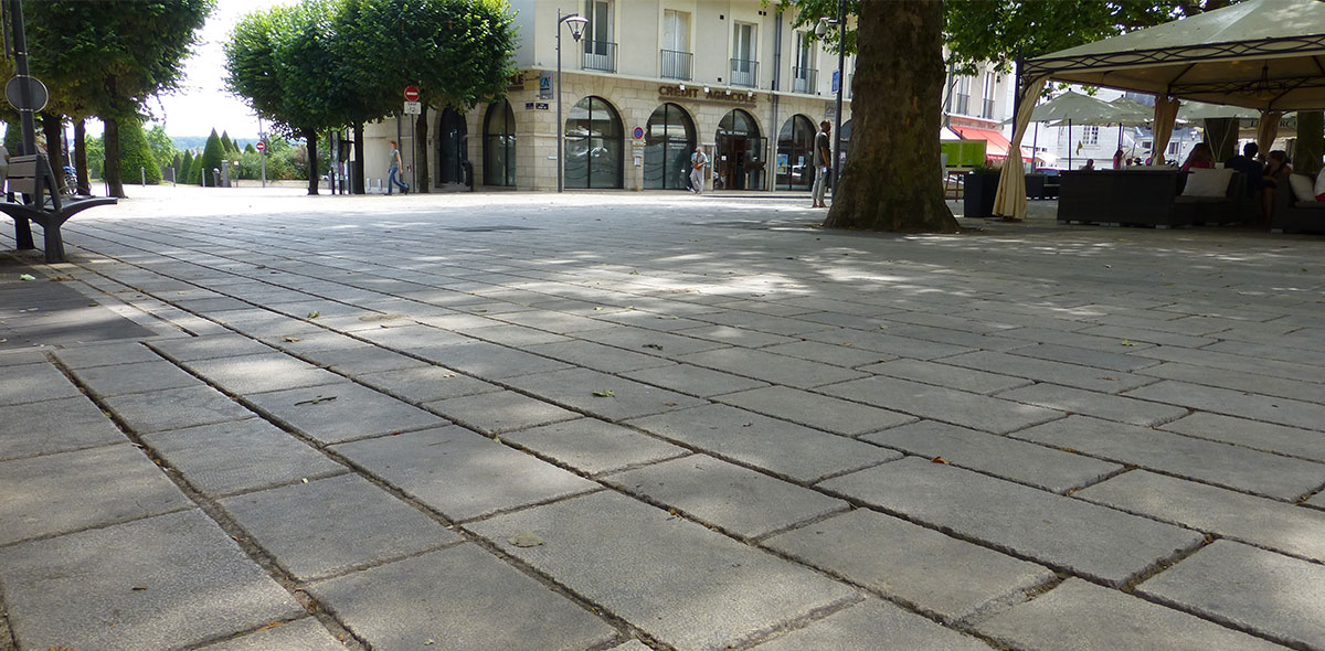 dallage place promenade blois 41 calminia pierre naturelle vente fabricant