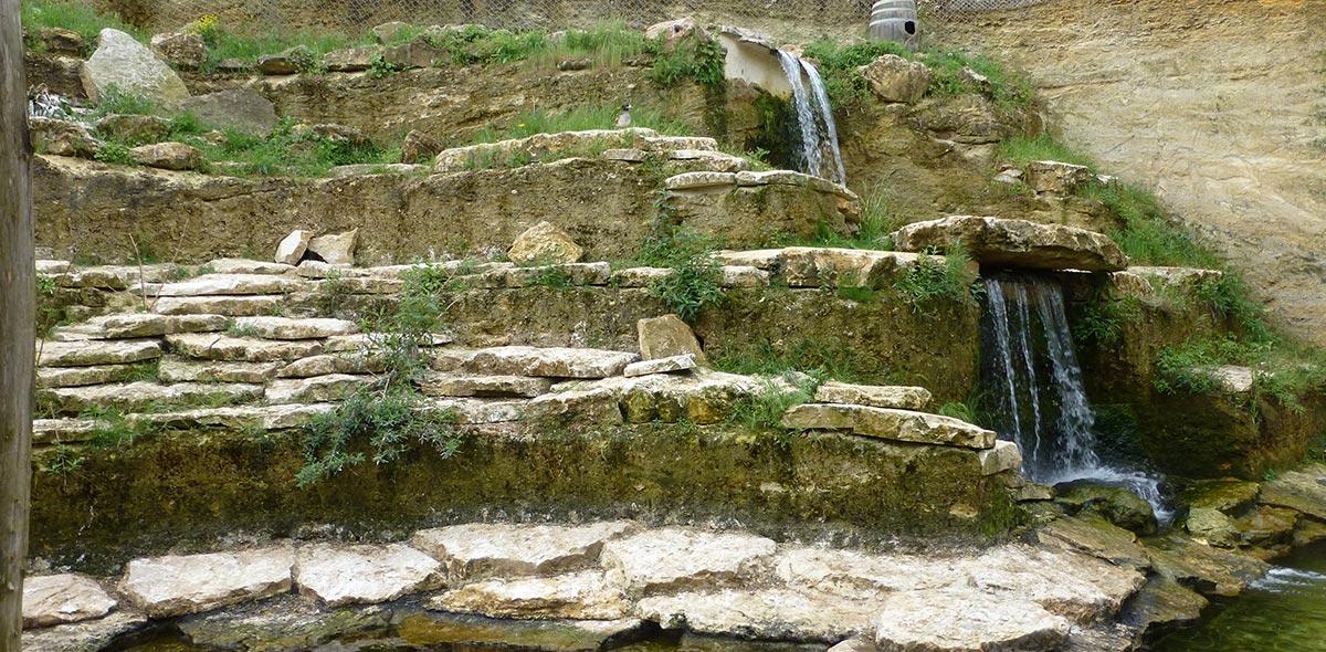 doué la fontaine pingouin rocheux vente fabrication pierre naturelle calminia