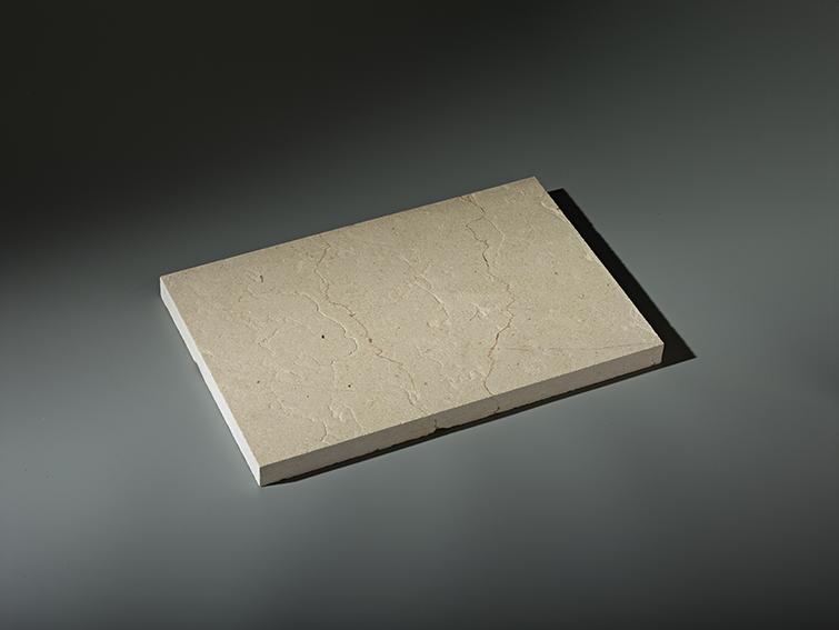 dalle brossée ocre beige calminia pierre naturelle vente fabricant