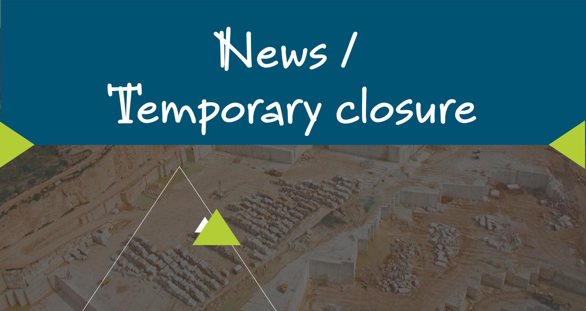 news covid-19 temporary closure