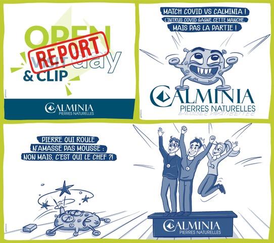 Calminia reporte au printemps prochain son open day Visit and Clip