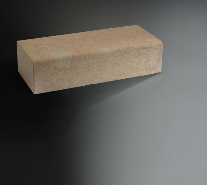 bordure calcaire ocre beige vente fabrication pierre naturelle calminia