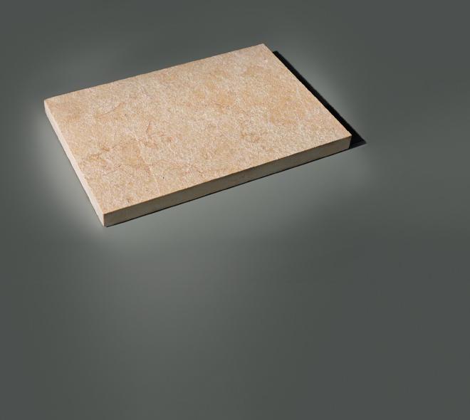 dalle banc a calcaire ocre beige calminia pierre naturelle vente fabricant