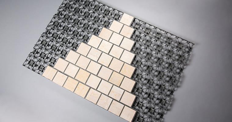 grille calmiclip fixation rapide pavé vente fabrication pierre naturelle calminia